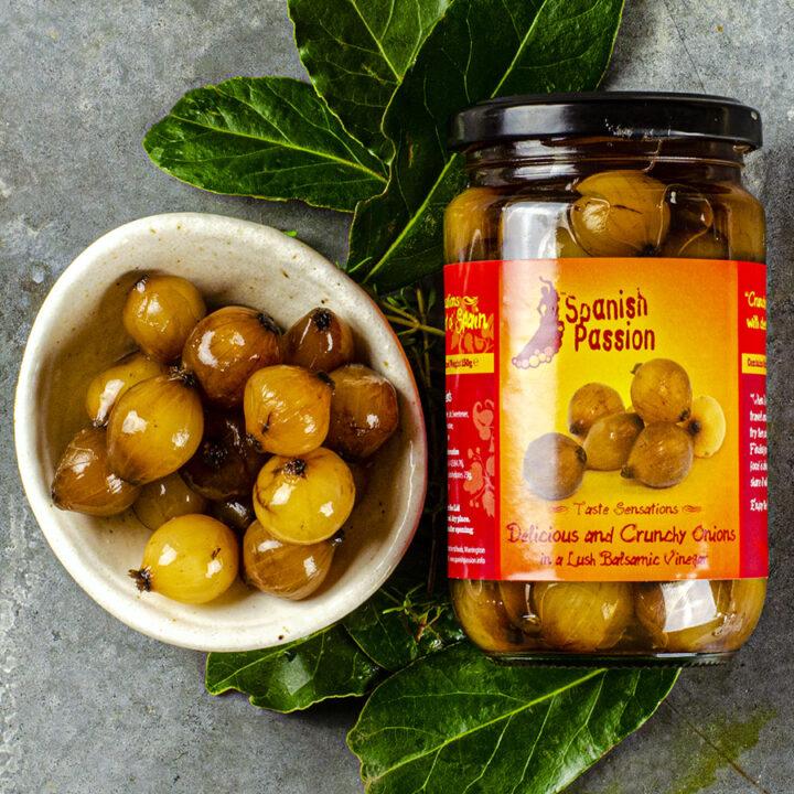 Spanish Balsamic Onions
