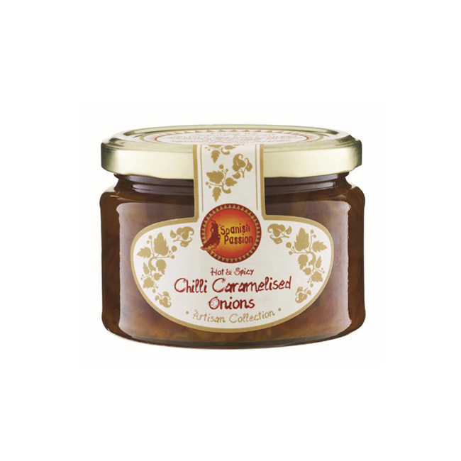 Spanish Passion Hot and Spicy Caramelised Onions