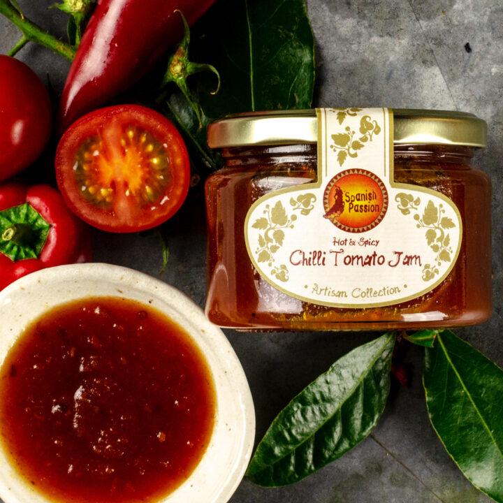 Hot Spicy Chilli Tomato Jam