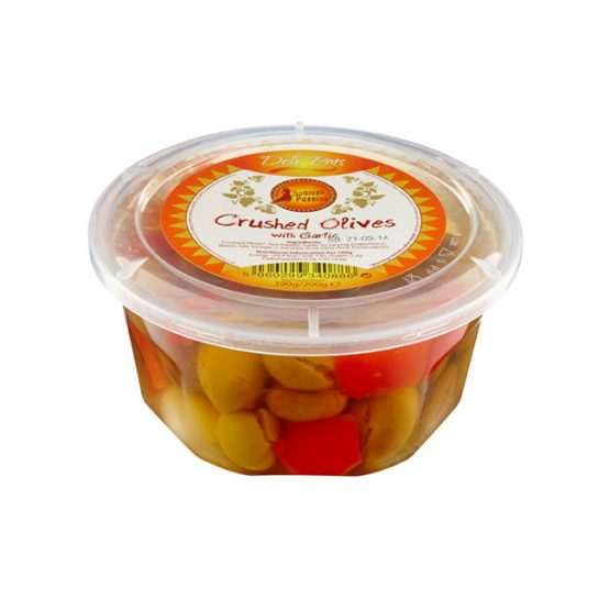 Spanish Passion Crushed Olives with Garlic