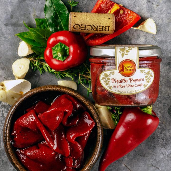 Piquillo Pepper Red Wine Confit