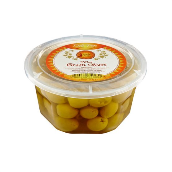 Pitted Green Olives Spanish