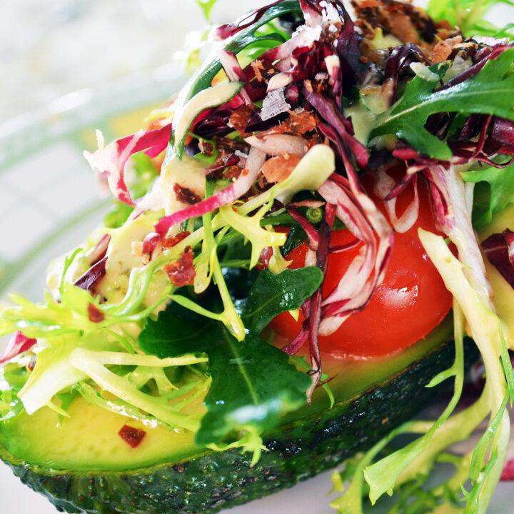 Green Mojo Sauce Salad
