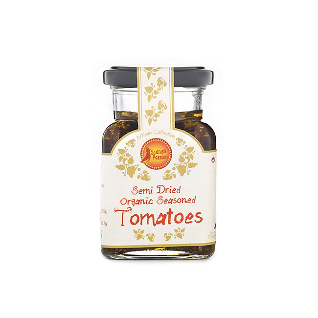 Semi Dried Organic Tomatoes