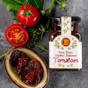 Semi Dried Organic Spanish Tomatoes