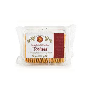 tomato frito chilli olive tostada