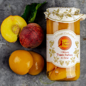 Spanish Valencia Peaches in Syrup