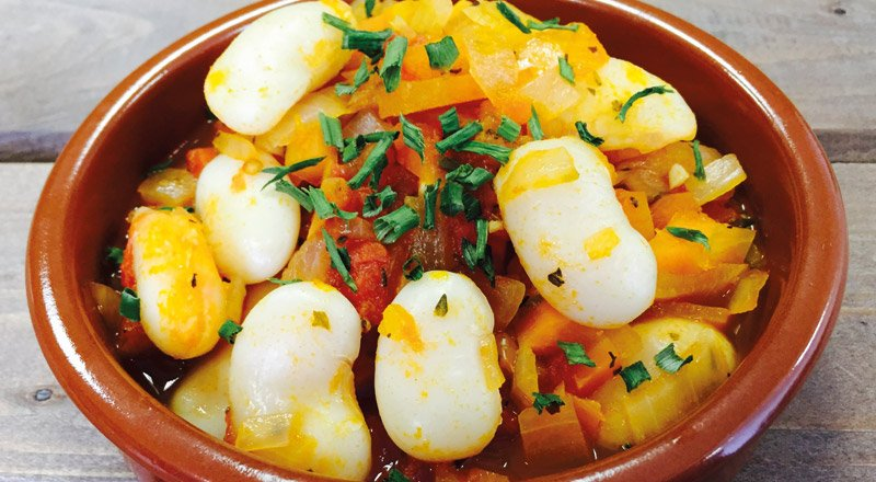 Spanish Passion Jumbo Butter Bean Broth