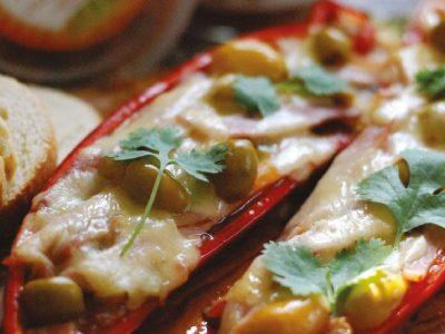 Pisto Stuffed Peppers