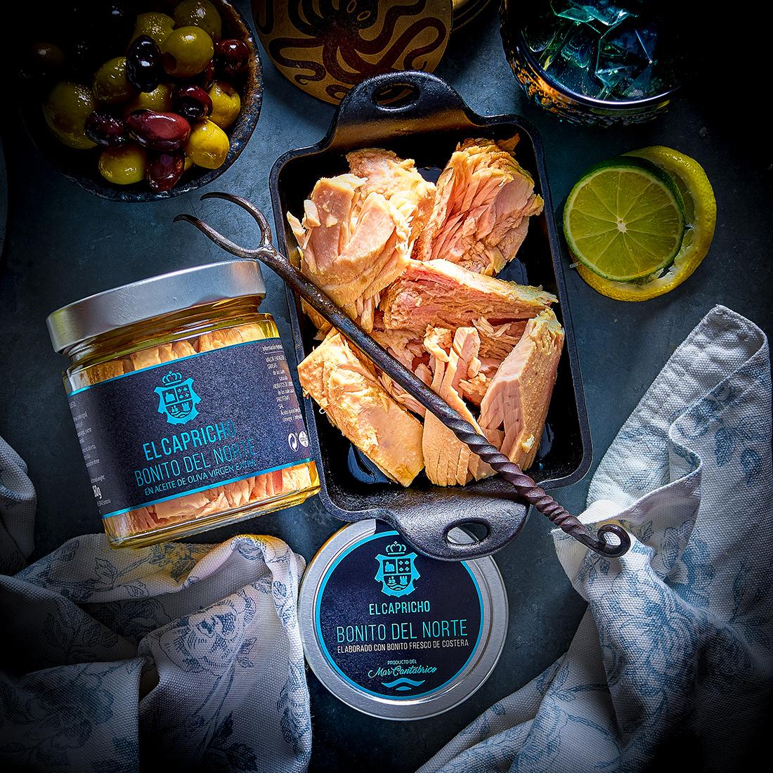 El Capricho Bonito Del Norte - Longfin White Tuna in Extra Virgin Olive Oil