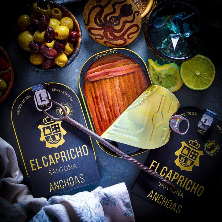 El Capricho Anchovies Extra Virgin Olive Oil