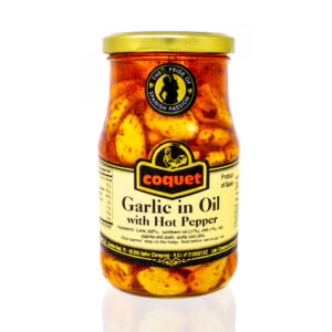 Coquet Garlic in Oil with Hot Pepper