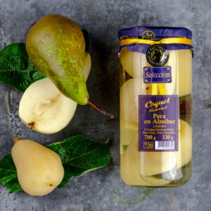Whole Spanish Pears in Syrup