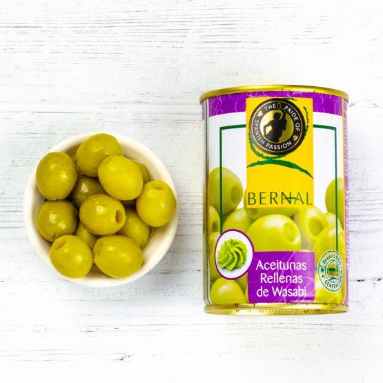 Olives Stuffed Wasabi