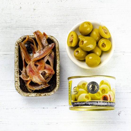 Anchovy Stuffed Olives (120g)