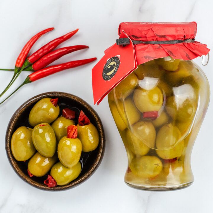 Gordal Olives infused with Chilli