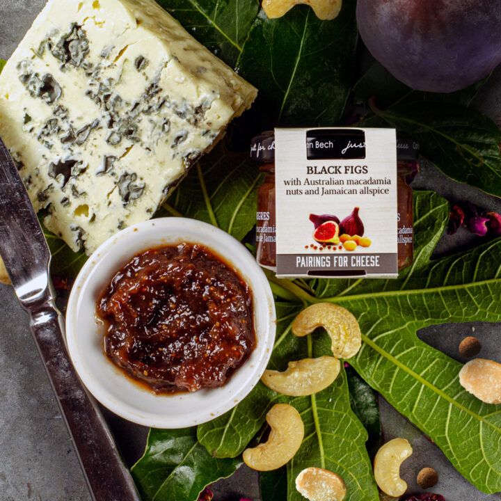 Just for cheese Black Fig Chutney