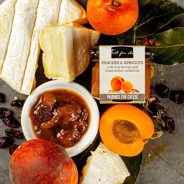 JUST FOR CHEESE – PEACH AND APRICOT