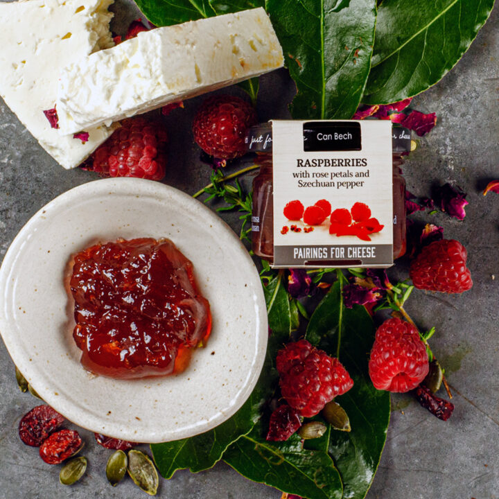 JUST FOR CHEESE – RASPBERRIES (30G)