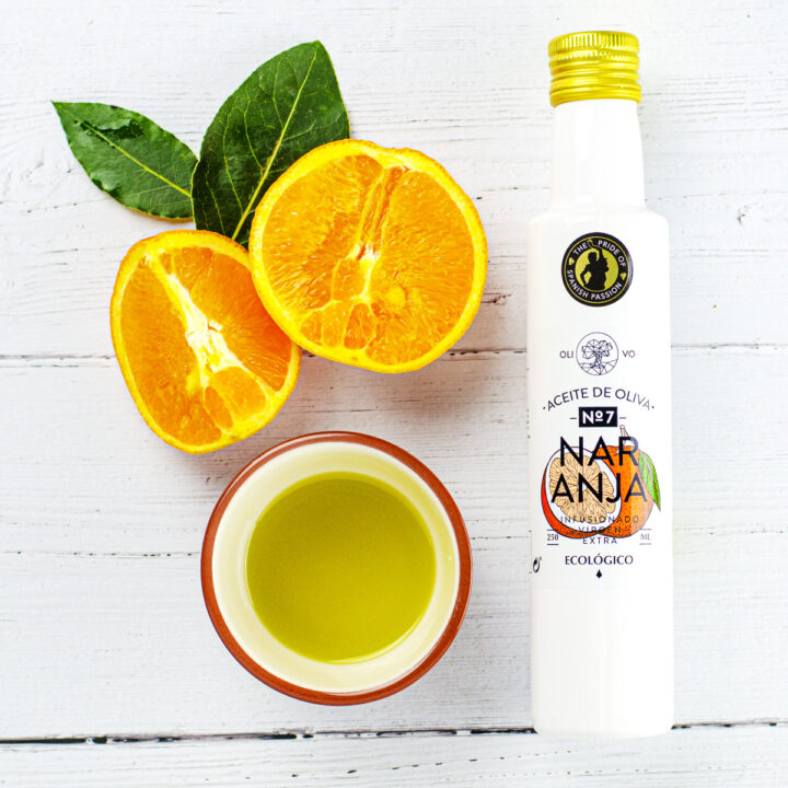 Organic Olive Oil Infused With Orange