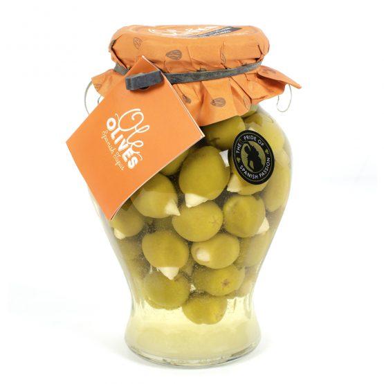Manzanilla Olives Stuffed with Almonds (580g)
