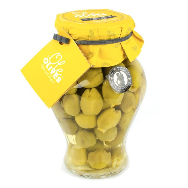 Manzanilla Olives Stuffed with Lemon (580g)