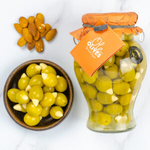 Manzanilla Olives Stuffed with Almonds (580g)