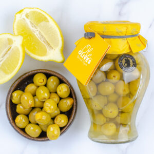 Manzanilla Olives Stuffed with Lemon (580g)