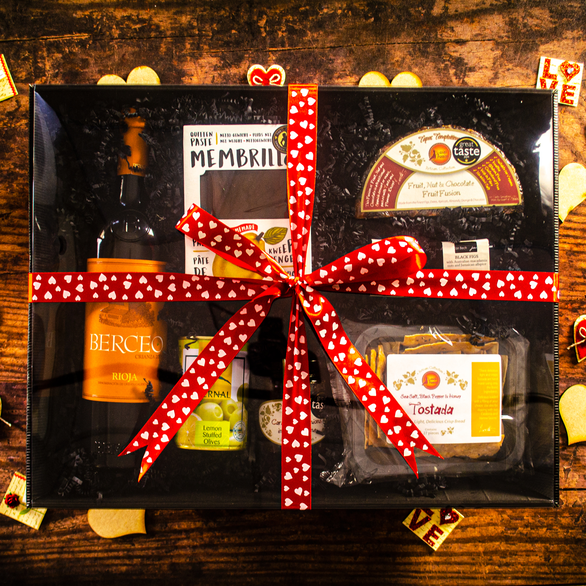Just For Cheese Large Valentines Gift Hamper