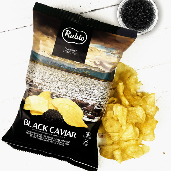 Black Caviar Crisps