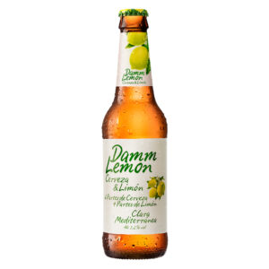 Damm Lemon Beer