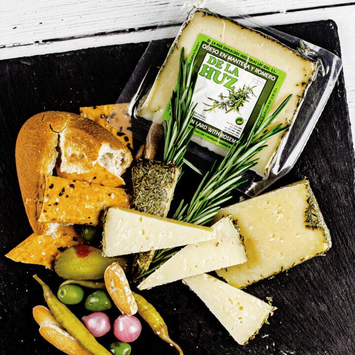Spanish Sheep & Goat Cheese with Rosemary – 200g