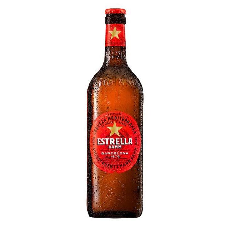 Estrella Damm 660ml - Premium Spanish Beer