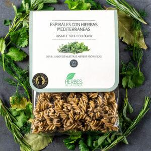 Fusili with Mediterranean Herbs