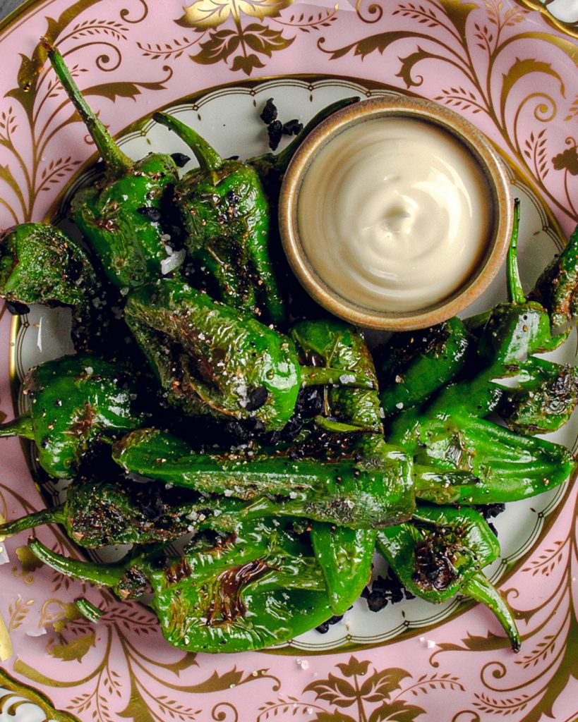Padron Peppers Allioli