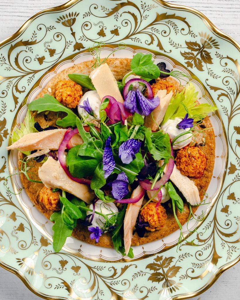 Torta aceite, White Tuna Salad