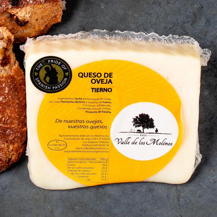 Tender Pasteurised Spanish Cheese
