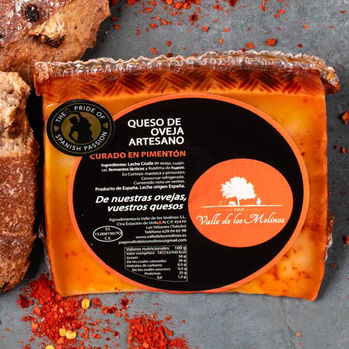 Artisan Spanish Cheese with Paprika