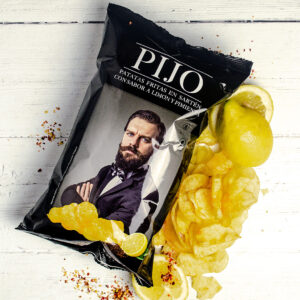 Pijo Lemon and Pepper Crisps