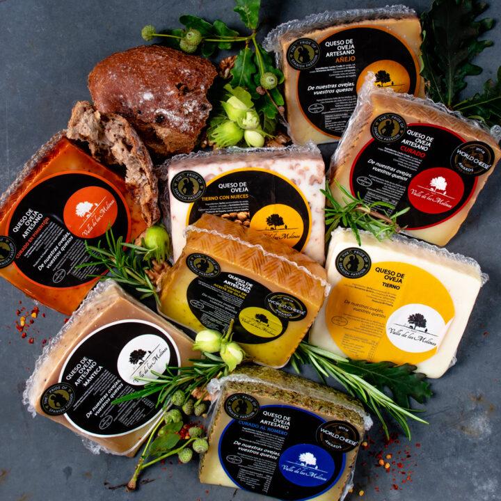 Artisan Spanish Cheese Selection