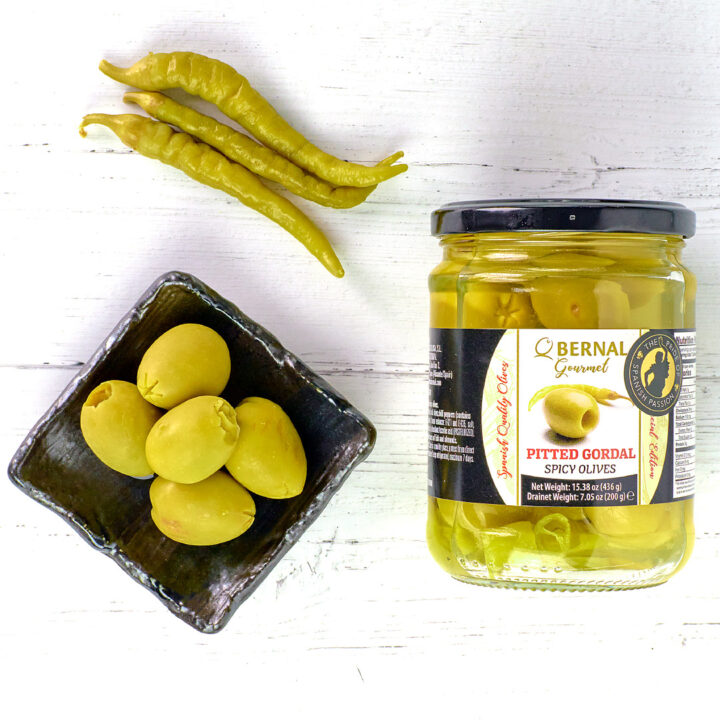bernal spicy olives with chillies