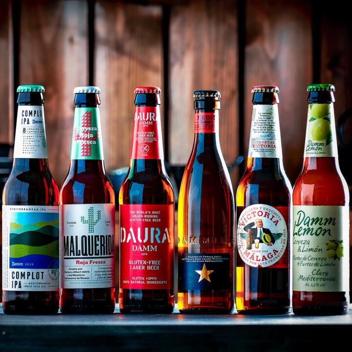 Six Spanish Beers Gift Box
