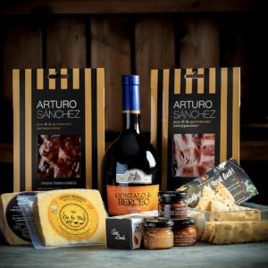 Spanish Cheese, Wine & Charcuterie Deluxe Gift Hamper