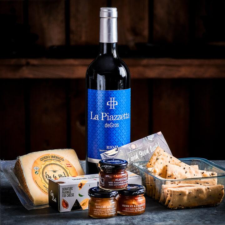 Spanish Cheese & Wine Gift Hamper