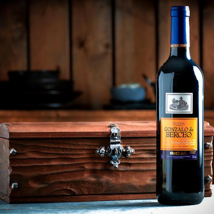Spanish Wine Gift Box - Gonzalo de Berceo Reserva Rioja 2014