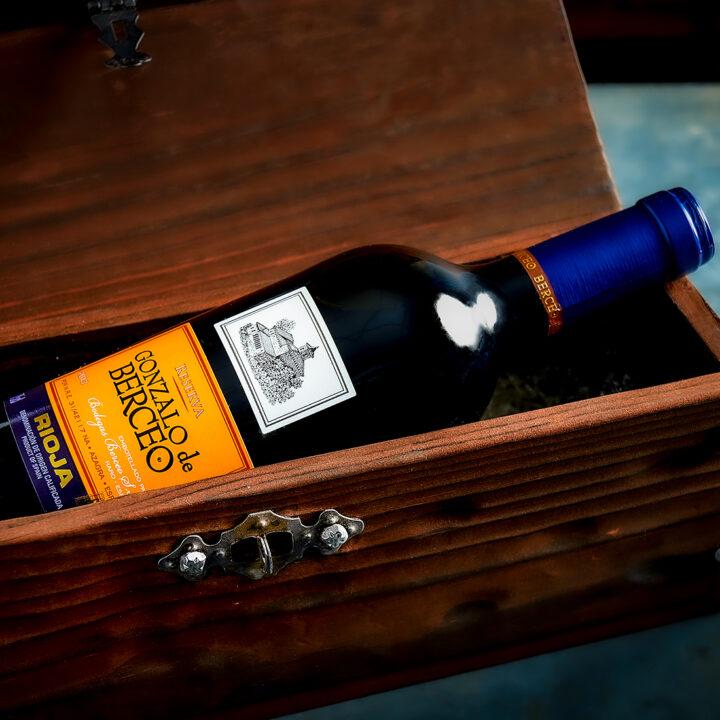 Spanish Wine Gift Box - Gonzalo de Berceo